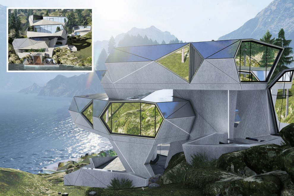 Architect claims crazy house can protect residents from coronavirus