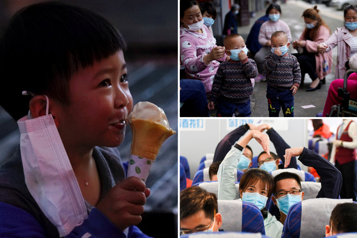 Coronavirus – Glimmer of hope as Chinese residents celebrate lockdown being lifted