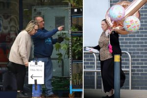 Shoppers flout coronavirus lockdown to stock up on balloons and plant pots