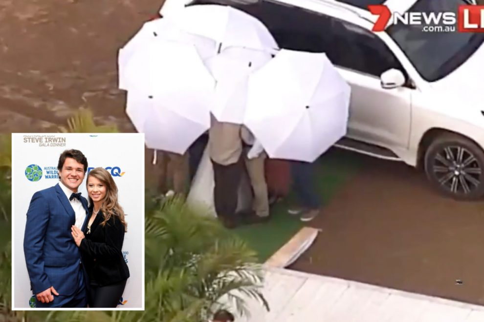 Steve Irwin's daughter Bindi secretly marries Chandler Powell hours before coronavirus lockdown