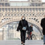 Coronavirus-hit Paris bans outdoor exercise during the day with joggers facing 6 months in jail if they break rules