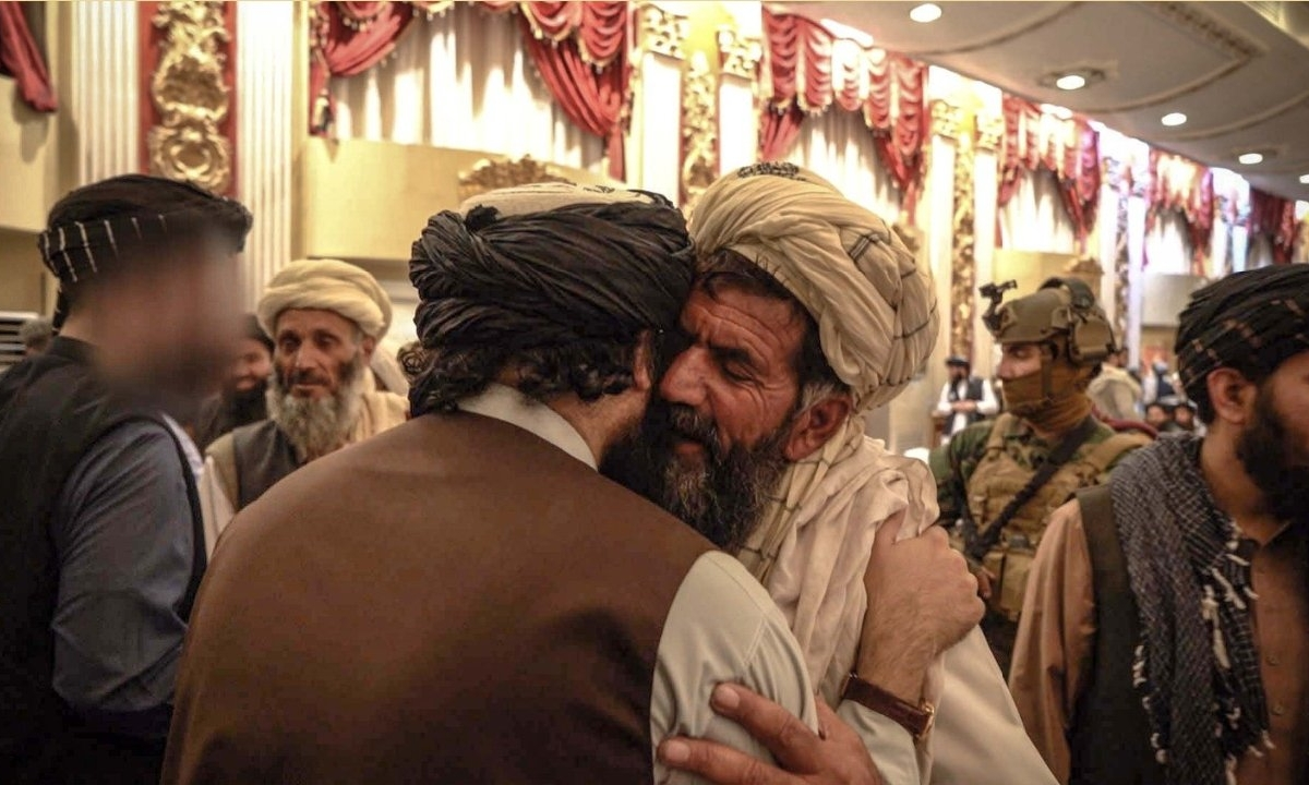 Taliban honours suicide bombers who killed US soldiers in twisted ceremony – handing out land and cash to their families